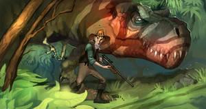 T. Rex hunt