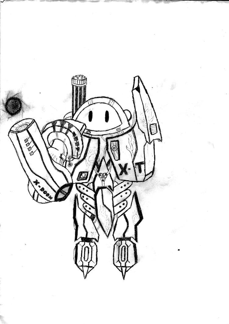 un robot by quetzalquatle