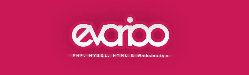 logodesign - evarioo - simple fonttype