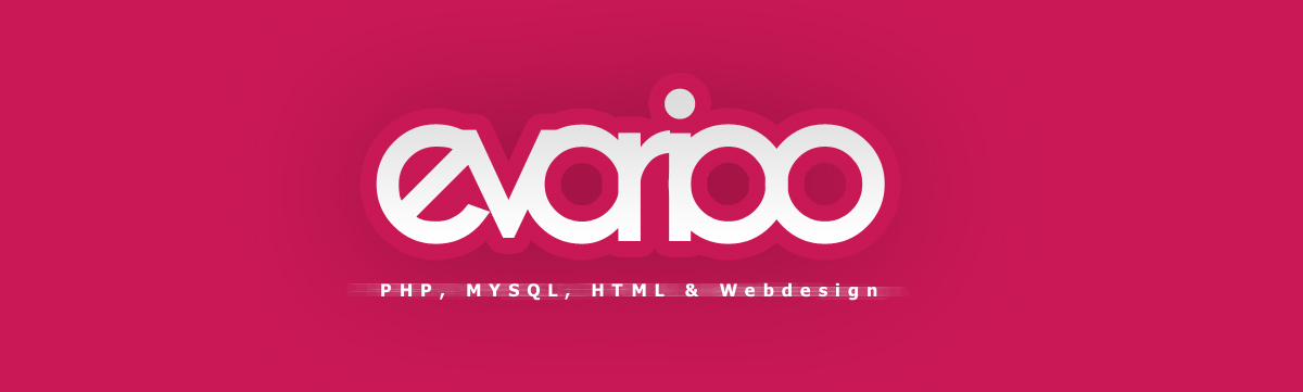 logodesign - evarioo - simple fonttype