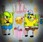 Spongebob Loves Alyssa's Milkshakes Digital Vers.