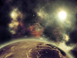 Sun in Space by Krzyzowiec