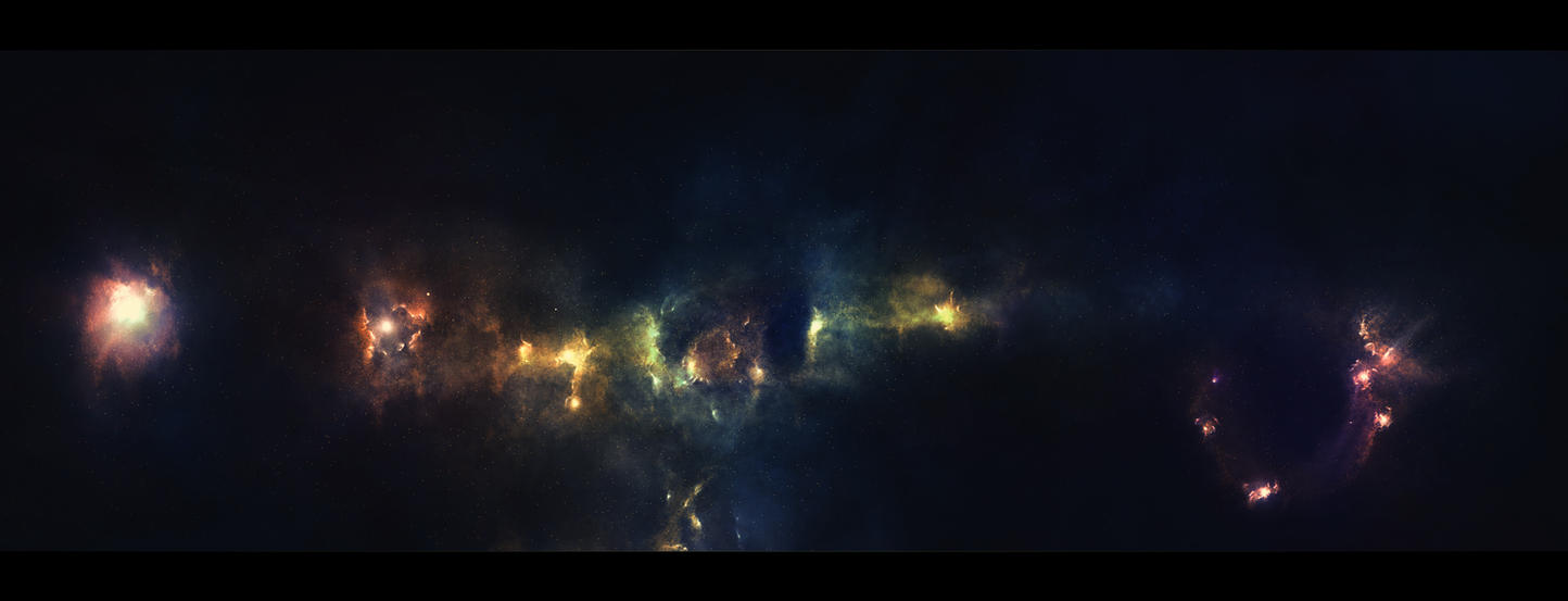 Deep Space I by Krzyzowiec