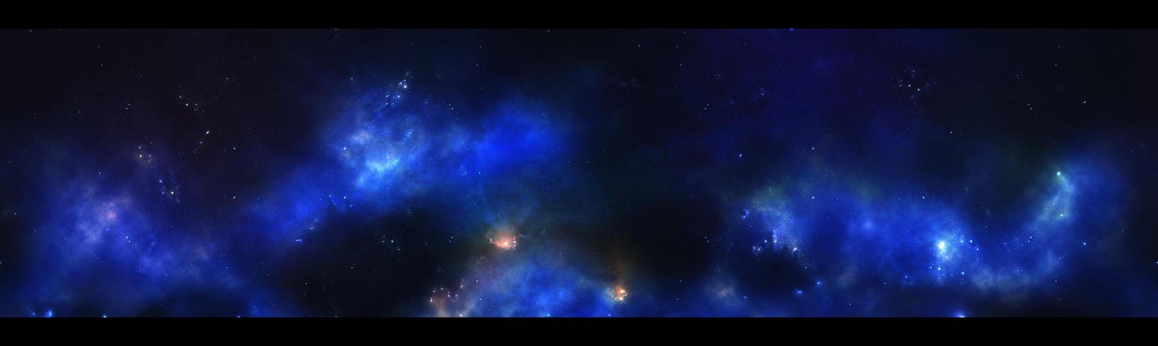 Blue Blue Sky - horizontal by Krzyzowiec