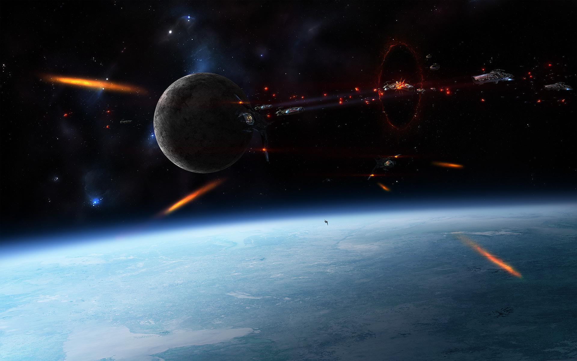 Space War collab by Krzyzowiec
