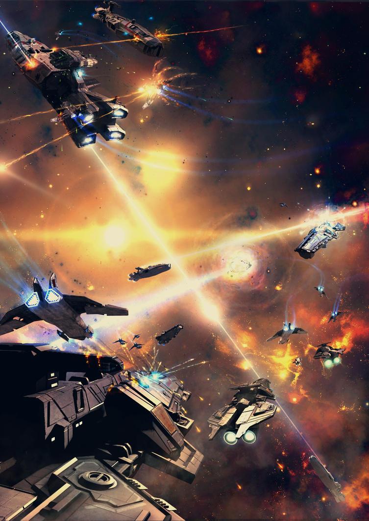Gemini Wars Final Stage by Krzyzowiec