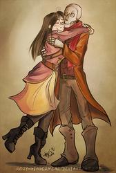 Sketch - Huggy Huggle by rosy-GingerPear