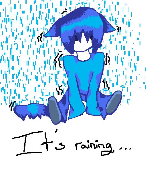 It's raining... by fireycheetah