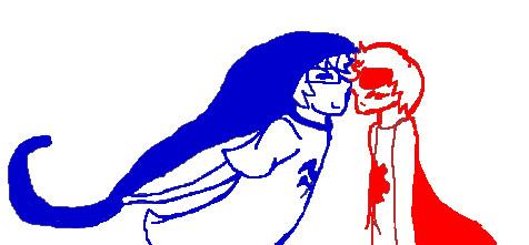 Eskimo Kisses: JohnDave by fireycheetah