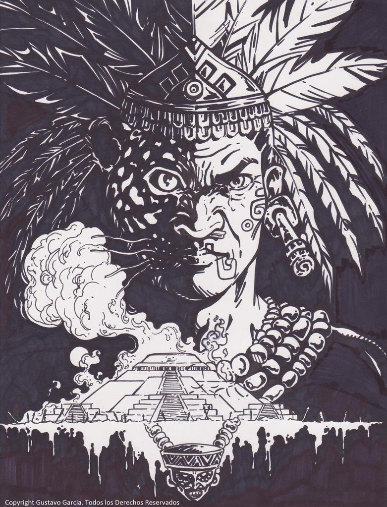 Sketch=Mesoamerica(plumon) by GUSStavoGARCIA