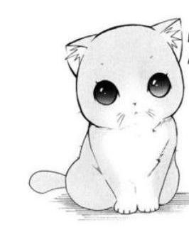 cute anime cat by izzyloveanddrwpushee on deviantart