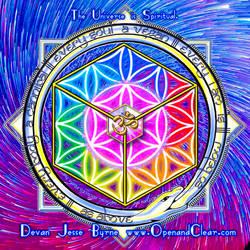 The Universe is Spiritual - Devan Jesse Byrne by IamACIM