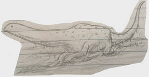 Wallowing Titanosaur Doodle