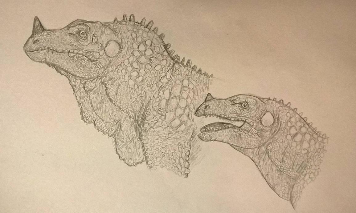 Retro Iguanodon