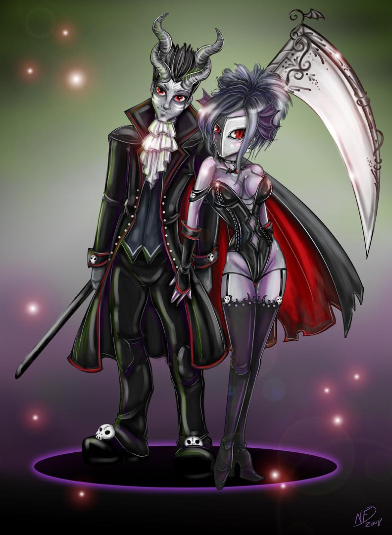 Dark Love Drawings Dark Love by NoFlutter...