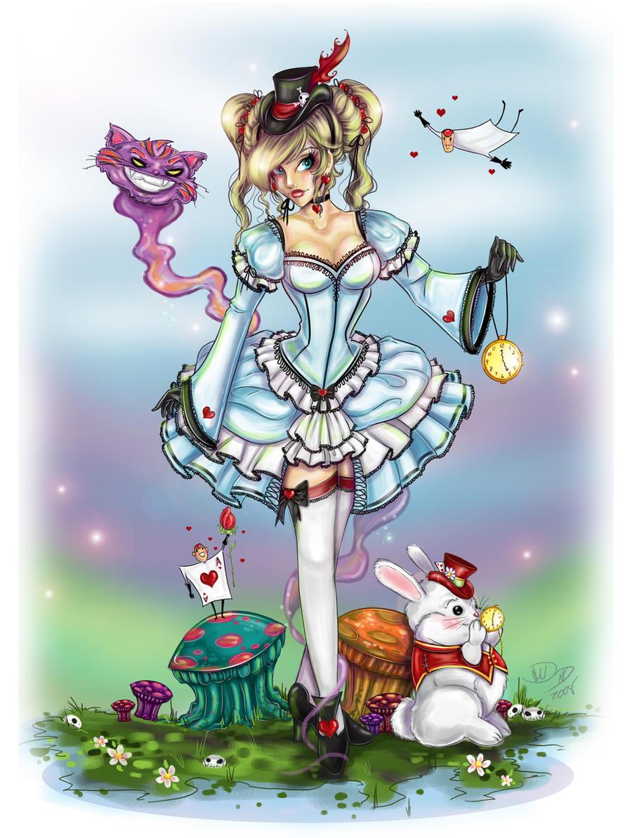 Lolita Alice in Wonderland by NoFlutter on DeviantArt