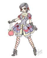 Lolita Snow White Sketch by NoFlutter