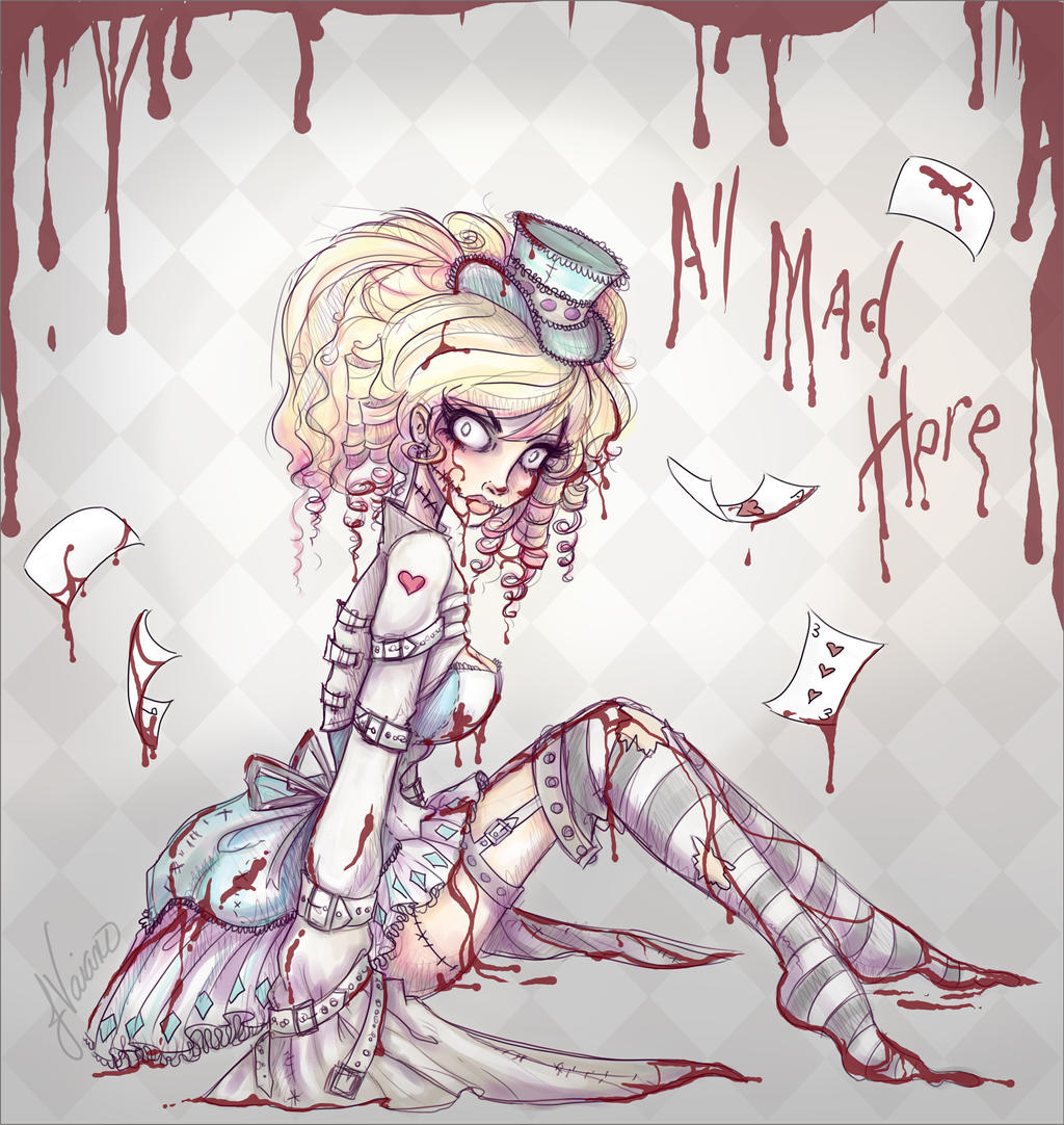 Crazy Alice By Noflutter On Deviantart