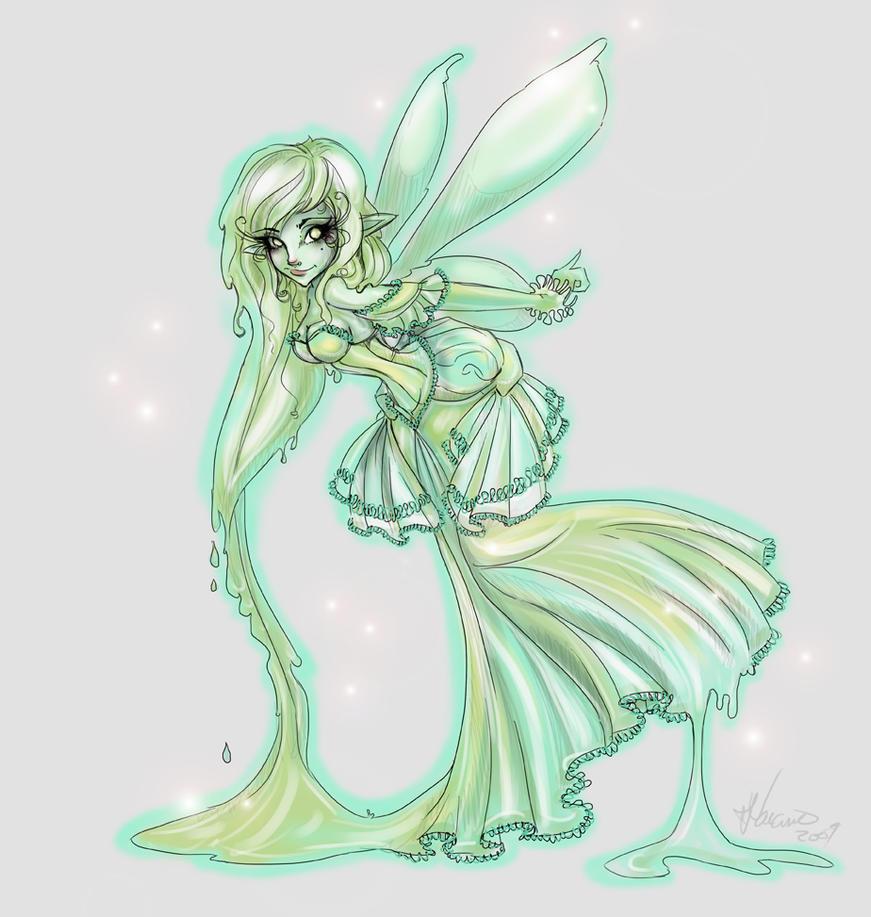 absinthe fairy by noflutter on deviantart