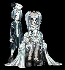 Victorian Lolita Ghosts by NoFlutter
