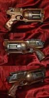 Steampunk Nerf Gun 1