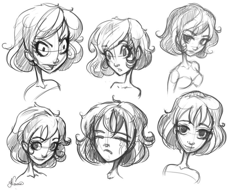 Character Sketch 2 by NoFlutter on DeviantArt