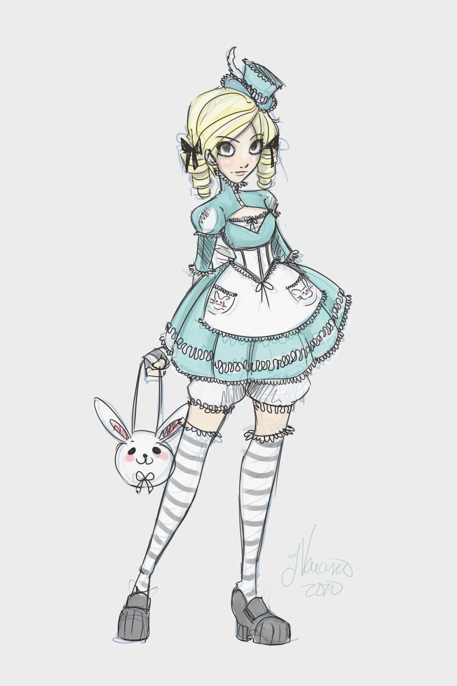Lolita Teen Alice Costume Idea by NoFlutter on DeviantArt