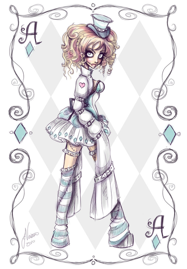 Crazy Alice Character 2 by NoFlutter