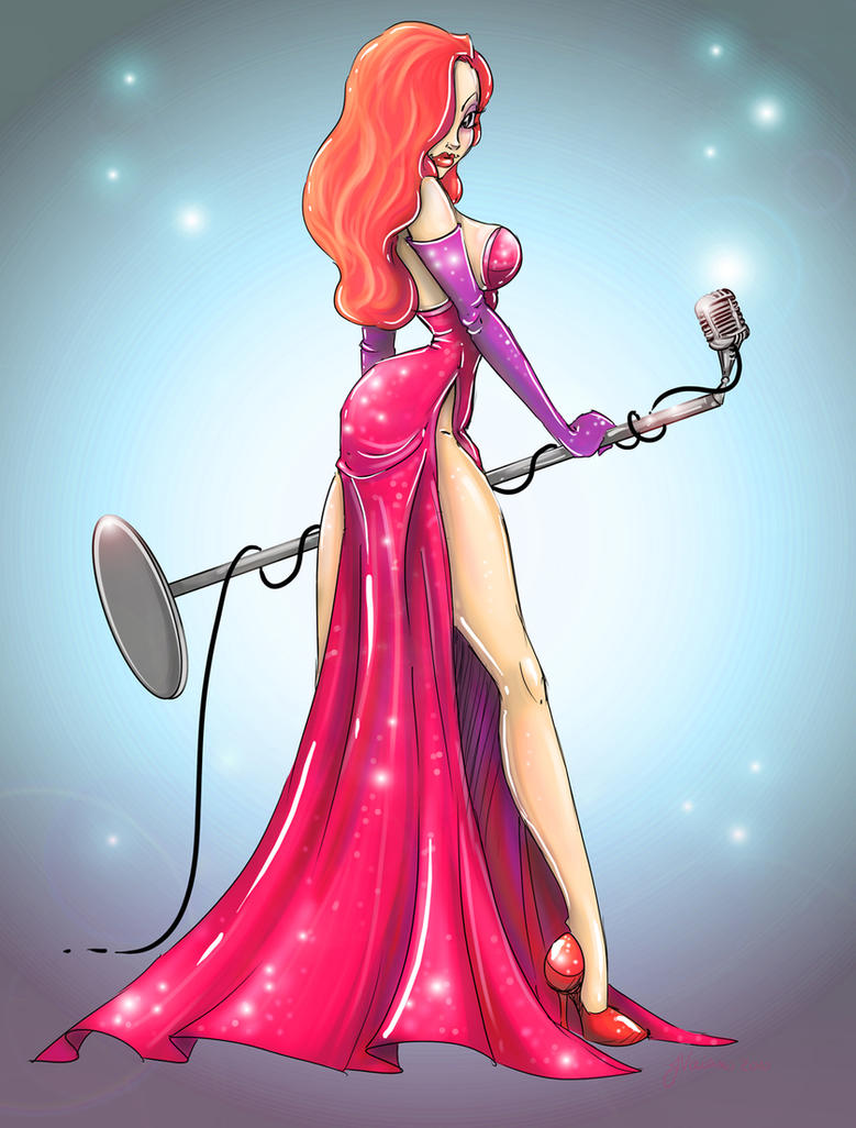 Jessica Rabbit by NoFlutter