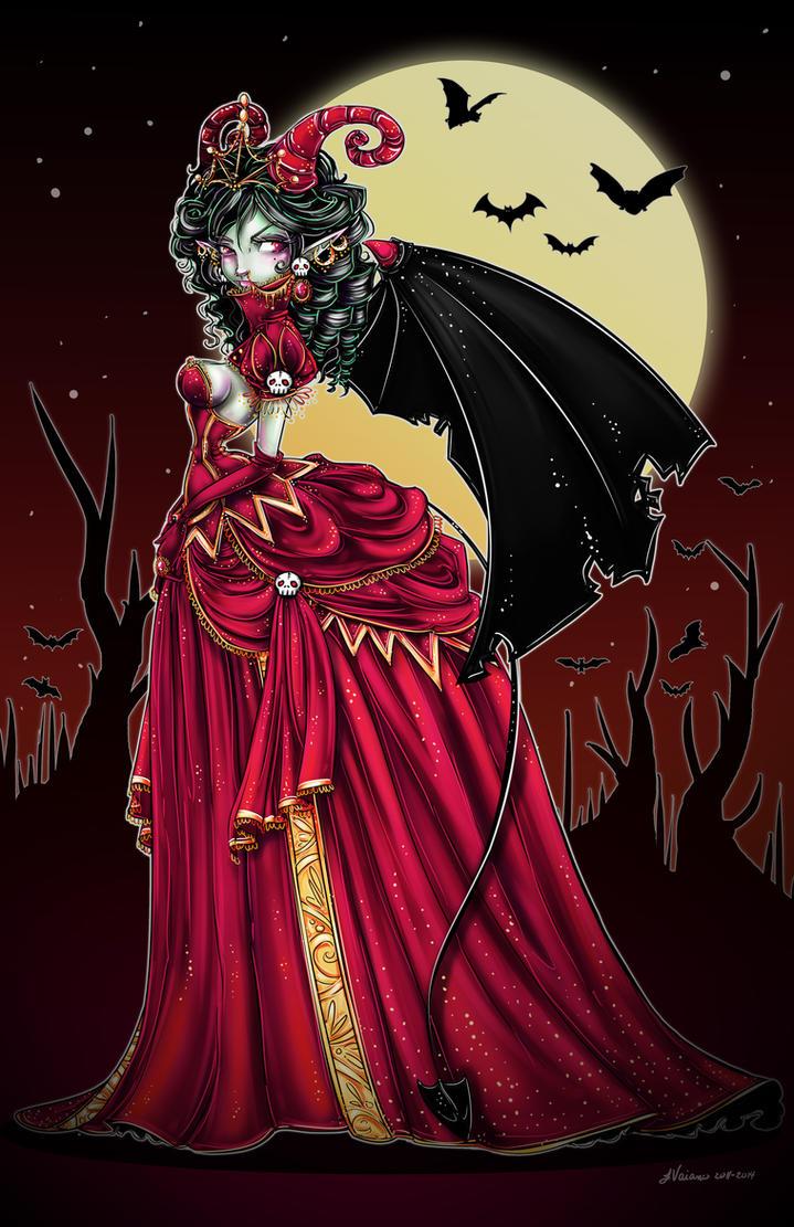 Demonia The Demon Queen by NoFlutter