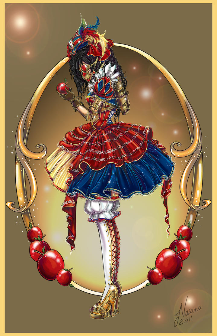 Steampunk Snow White by NoFlutter