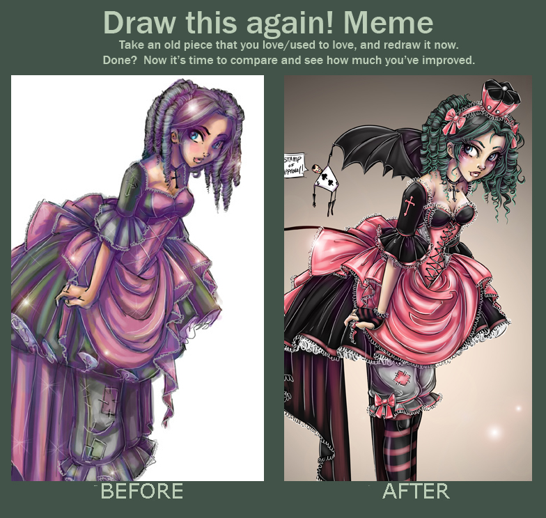 Before and After Meme by NoFlutter