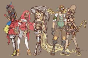 Steampunk Fairy Tale Group