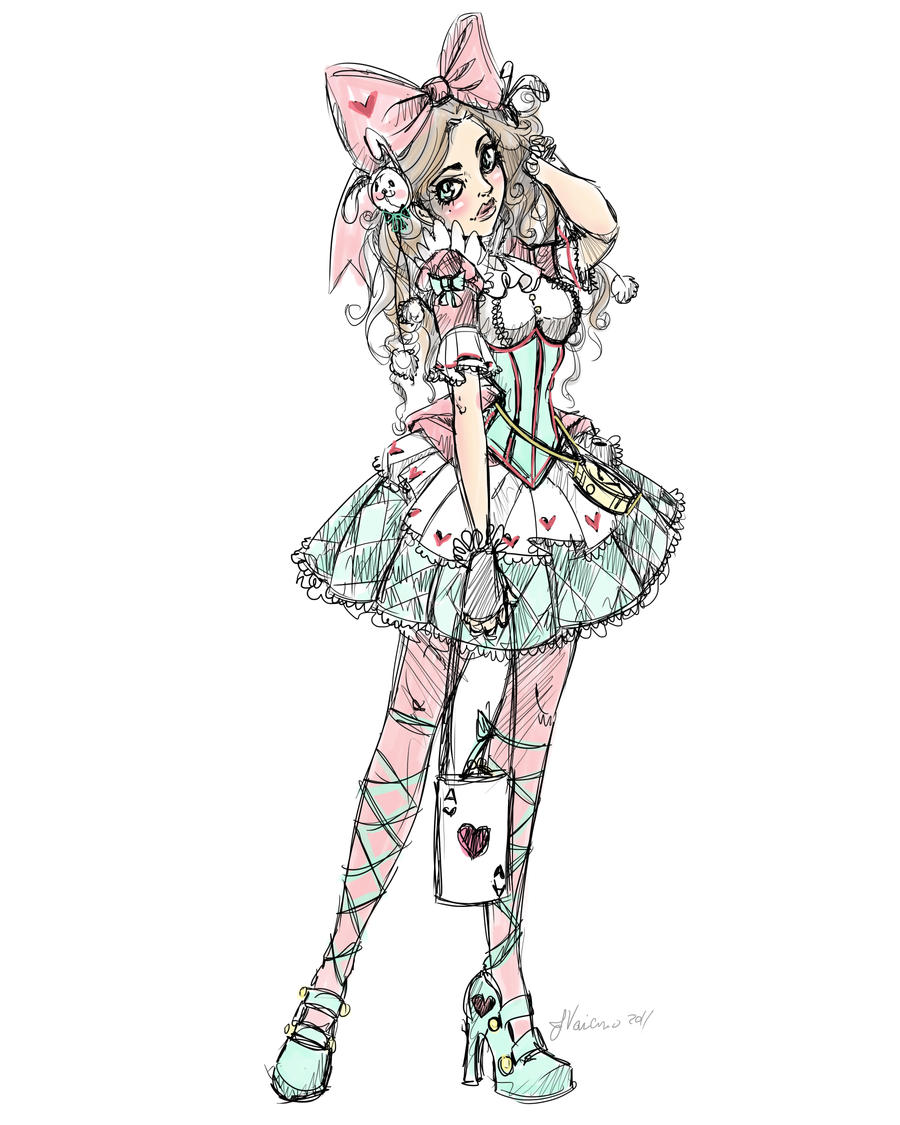 Pink and Blue Lolita