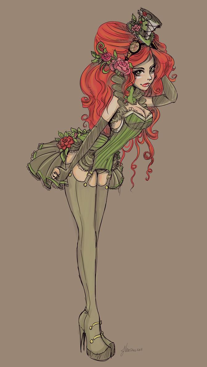 Alternate Victorian Ivy Sketch by NoFlutter