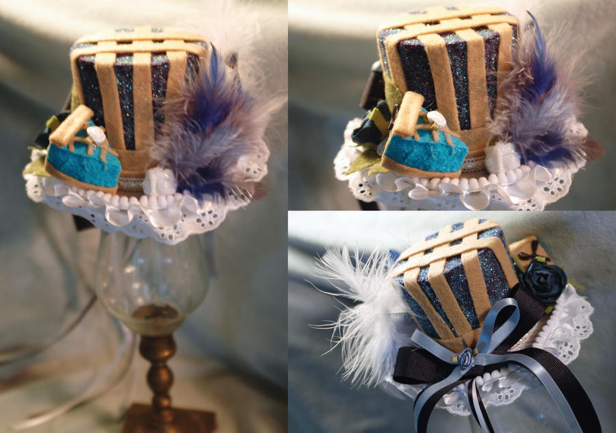 Blueberry Pie Mini Top Hat by NoFlutter
