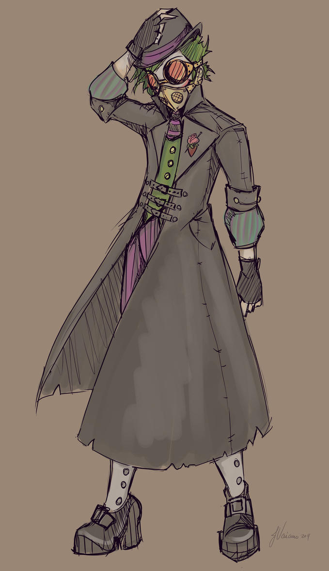 Alternate Joker Sketch by NoFlutter