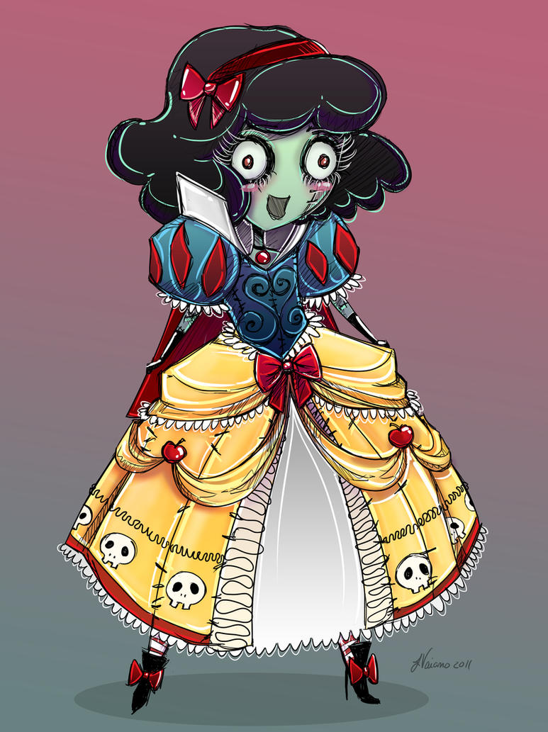 Anime Zombie Characters : Cute zombie snow white by noflutter on deviantart