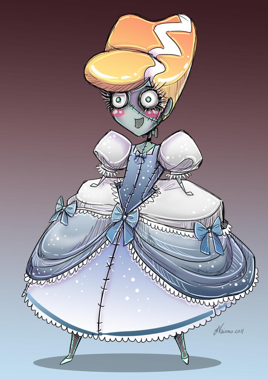 Cute Franken Cinderella by NoFlutter