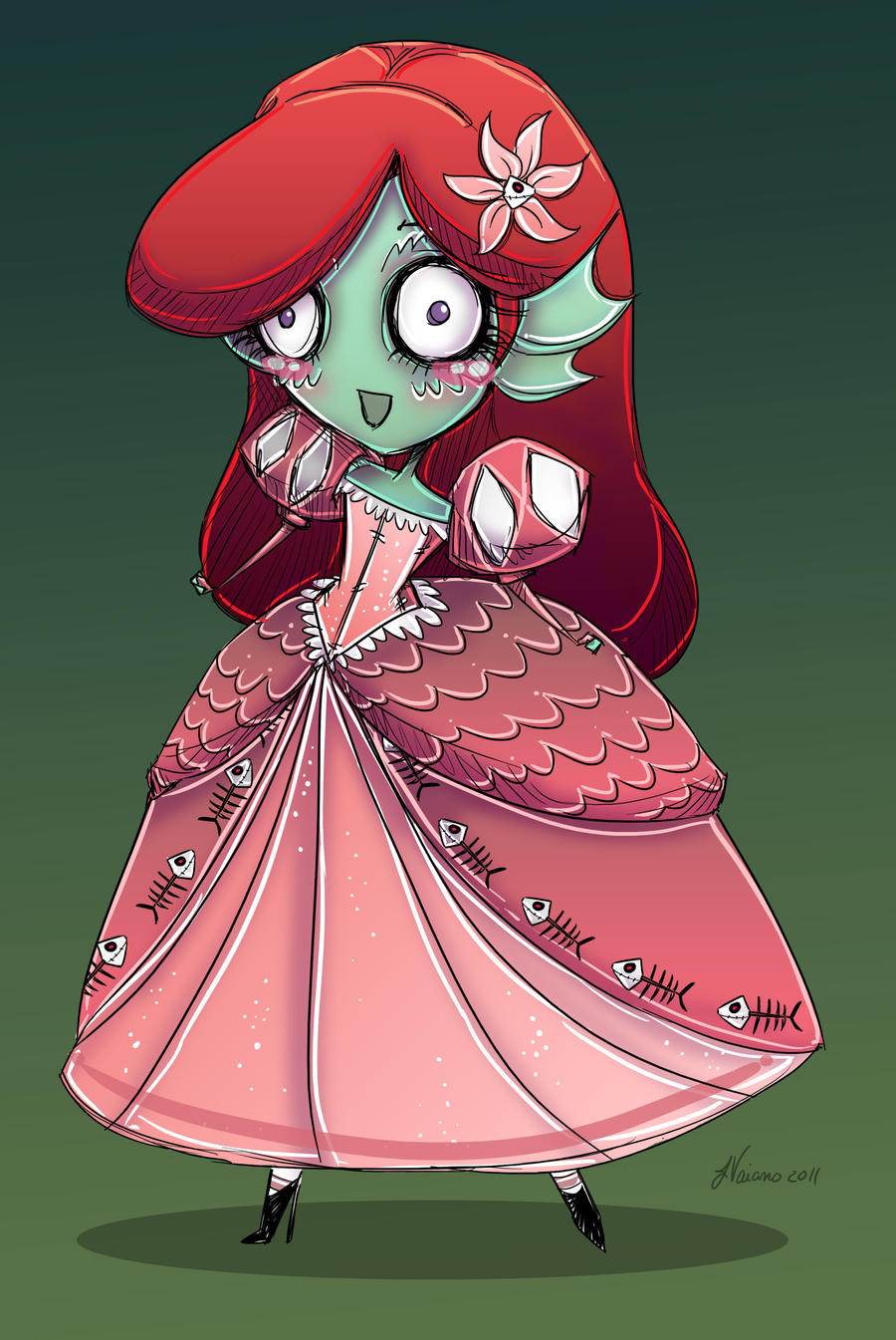 Little Mermaid from The Black Lagoon by NoFlutter