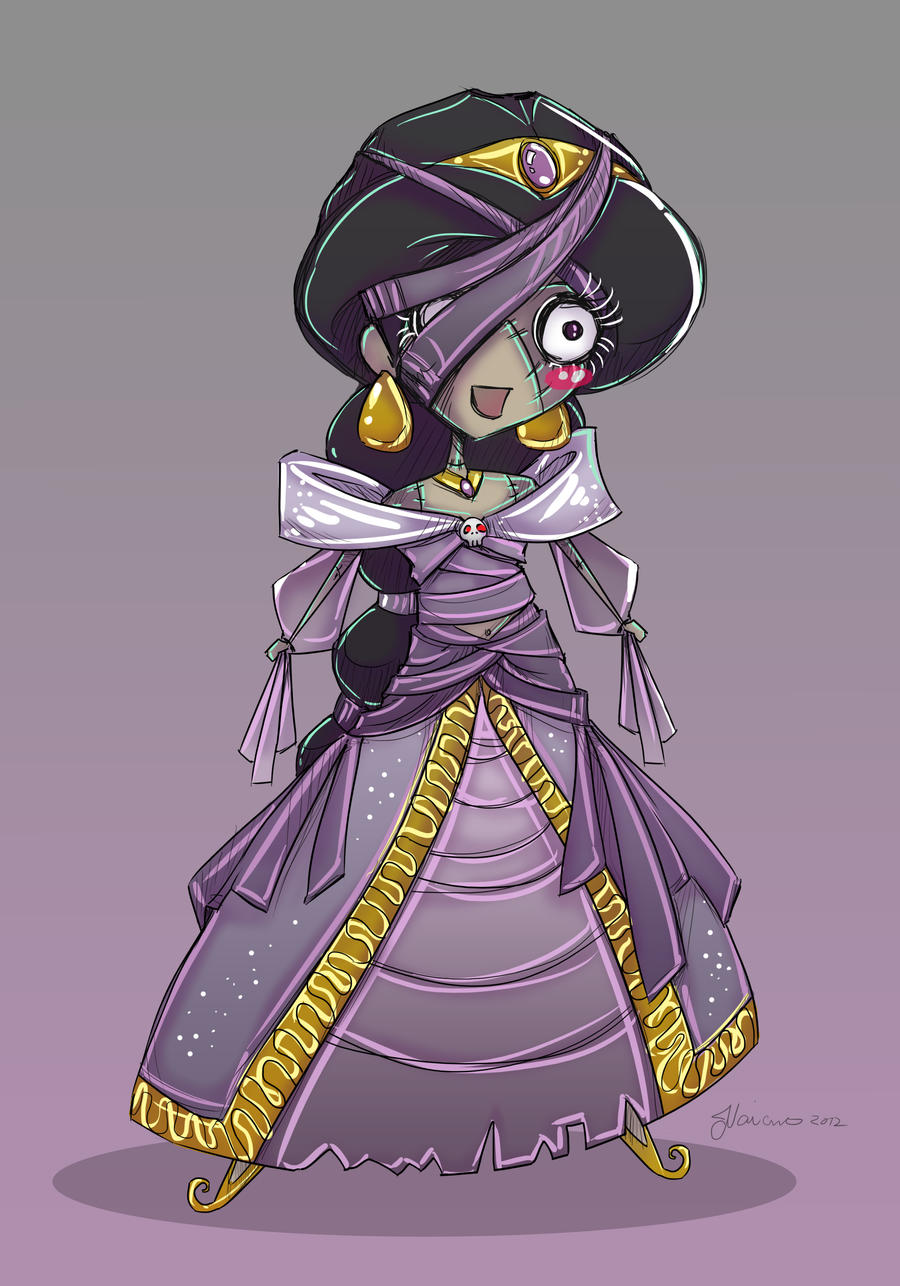 The Mummy Jasmine by NoFlutter