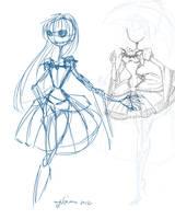LOL First Female Jack Sketch by NoFlutter