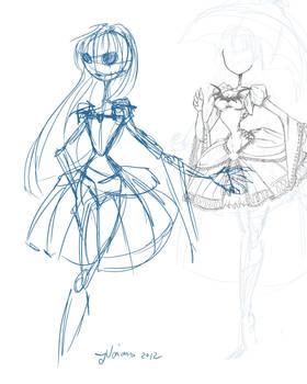 LOL First Female Jack Sketch
