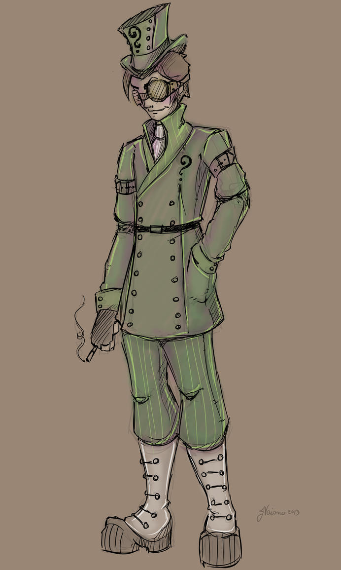 Alternate Victorian Riddler by NoFlutter