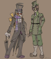 Dashing Villains by NoFlutter