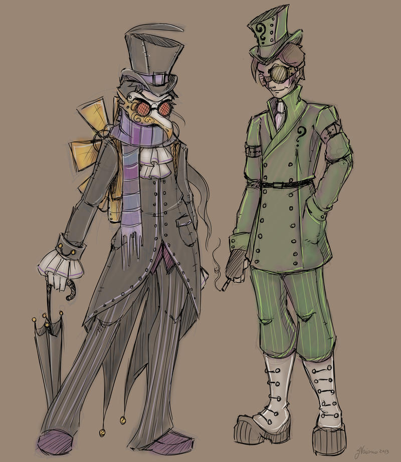 Dashing Villains by NoFlutter