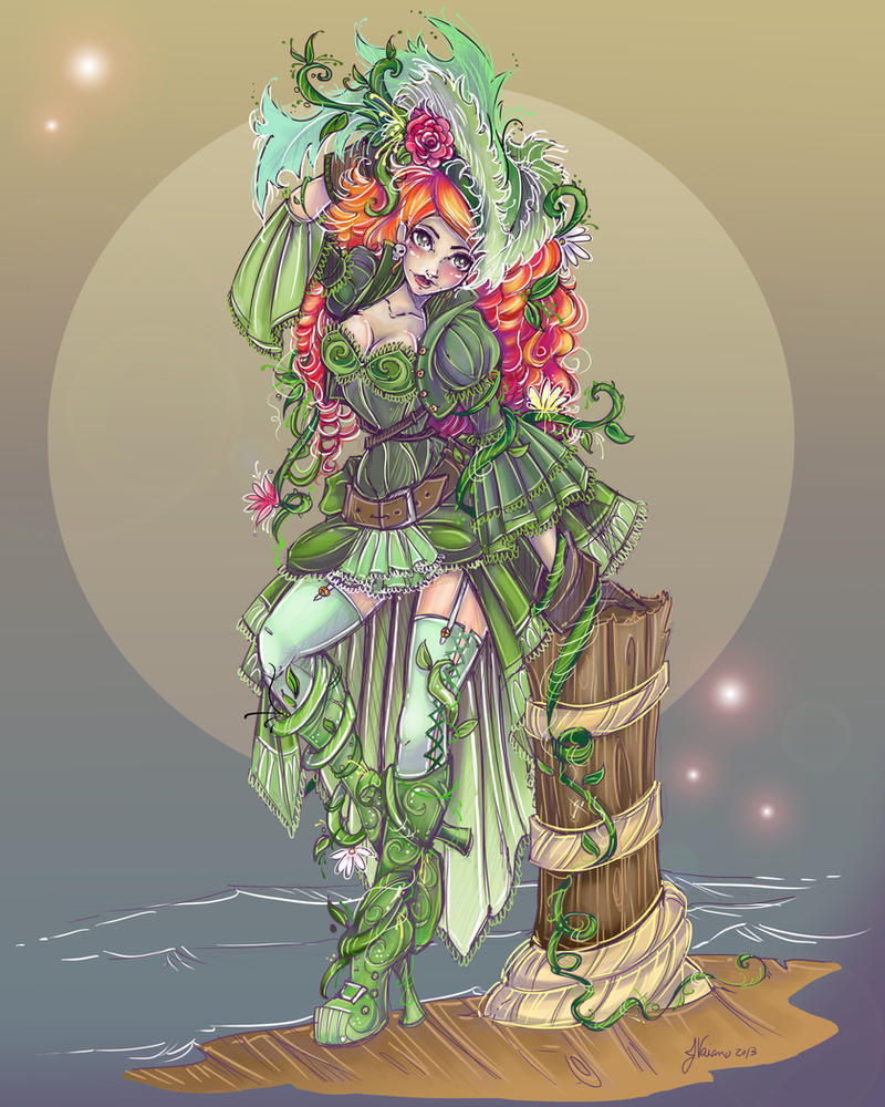 Pirate Ivy-complete by NoFlutter