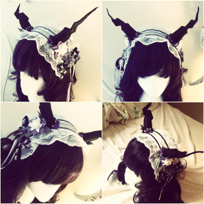 Demon Horn Maid Headband by NoFlutter