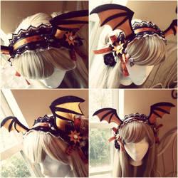 Bat Wing Maid Headbands