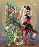 Pirate Ivy and Harley